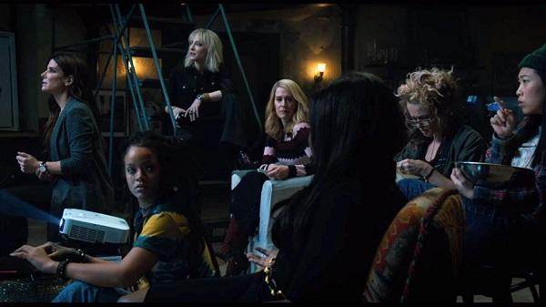 Ocean S Eight 2018 All Girl Heist Reboot A Film Review Twiggy Twiggy